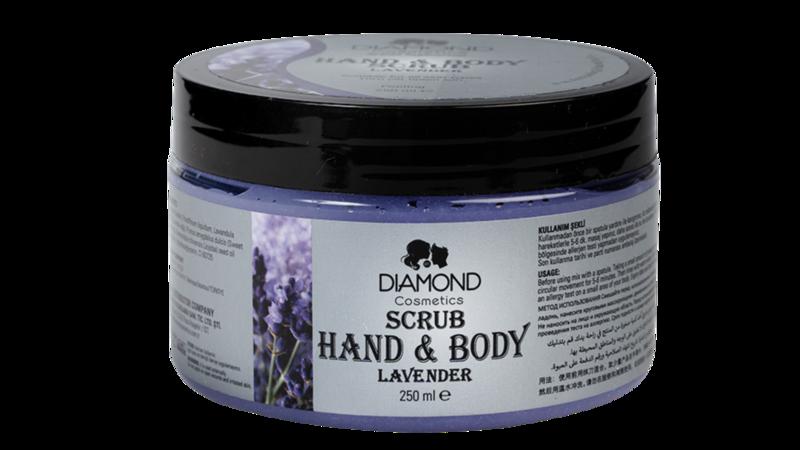 Diamond Hand&Body Scrub Lavender