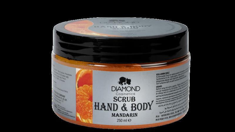 Diamond Hand&Body Scrub Mandarijn