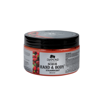 Diamond Hand&Body Scrub Strawberry