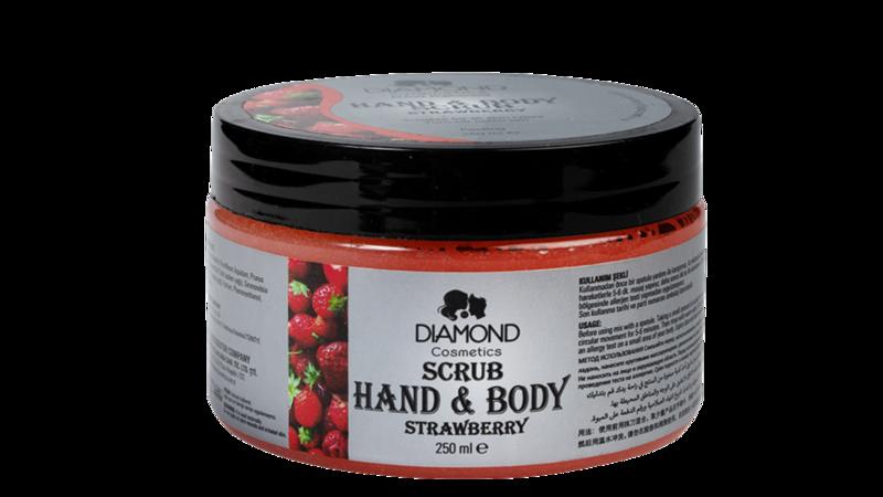 Diamond Hand&Body Scrub Aardbei