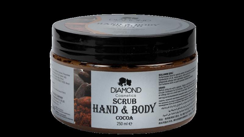 Diamond Hand&Body Scrub Cacoa