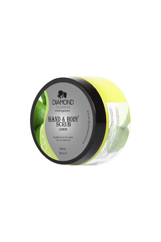 Diamond Hand&Body Scrub Lemon