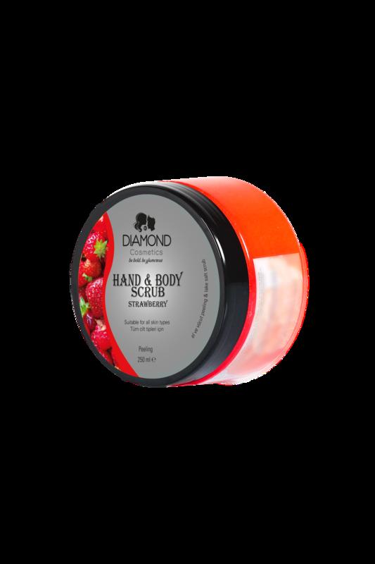 Diamond Hand&Body Scrub Erdbeere
