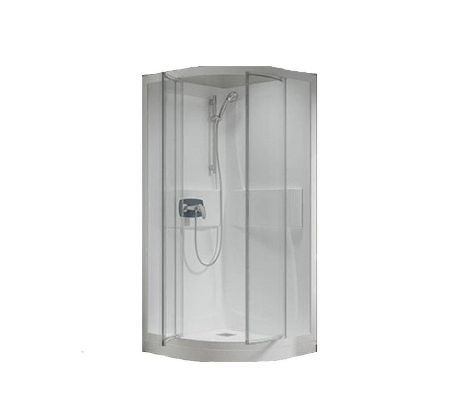 Lambda Premium Kwartrond acryl - hoek