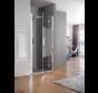 Spazio draaideur voor douche 90 cm - scharnier rechts