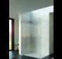 Raffinato Solo douchewand 140 cm - steun vloer/plafond
