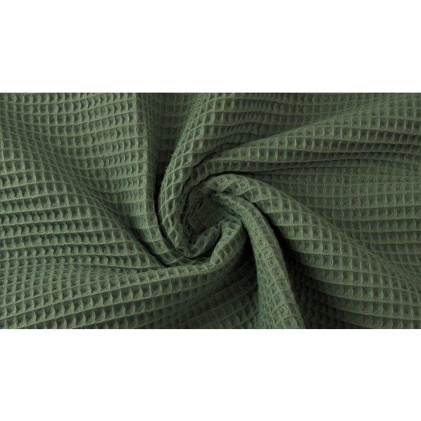 Wafeldoek army green