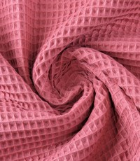Wafeldoek rose