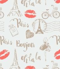 Popeline Parijs ecru