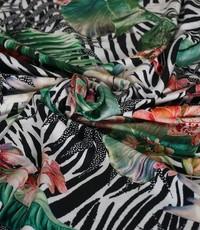 Tricot zebra jungle