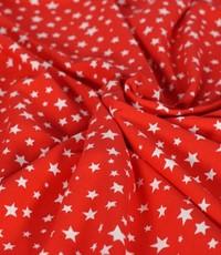 Tricot sterretjes rood