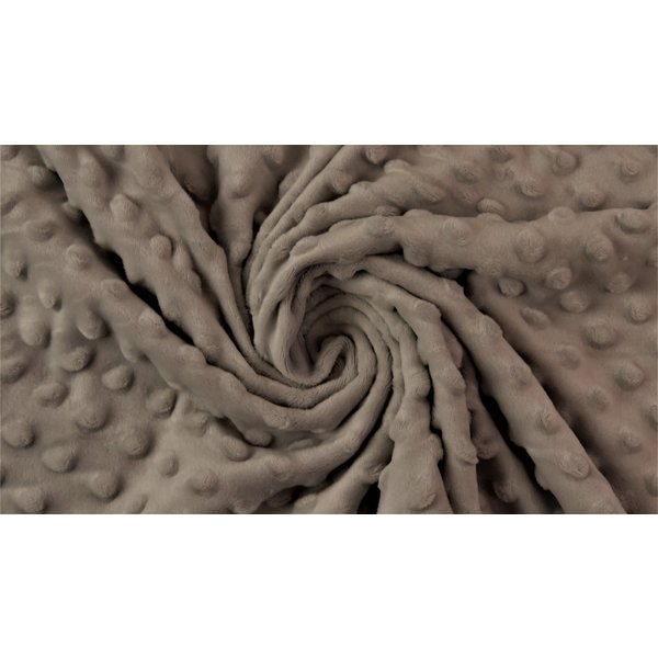 Micro fleece taupe