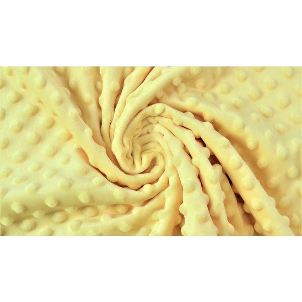 Micro fleece licht geel