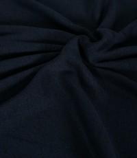 Knitted jogging gemeleerd donkerblauw
