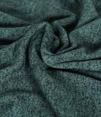 Knitted jogging gemeleerd oud groen