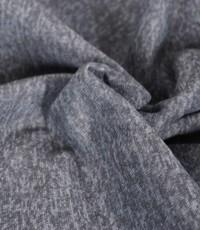 Knitted jogging gemeleerd grijs