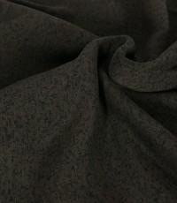 Knitted jogging gemeleerd donker olijfgroen