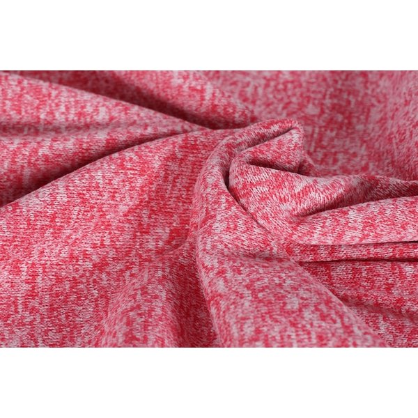 Knitted jogging gemeleerd rose