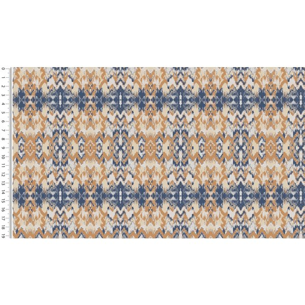 French terry ikat beige