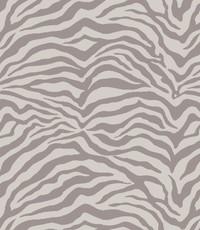 French terry zebra licht beige