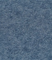 Wool touch  jeans blauw