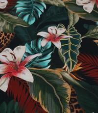 Stretch katoen jungle