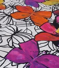 Viscose picasso vlinder