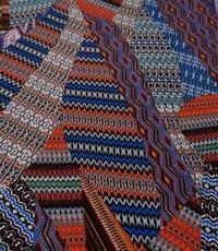 Crepe designer zigzag