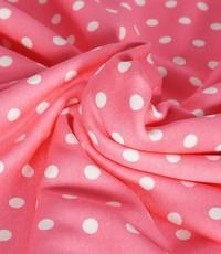 Jogging gestreept roze met witte stip