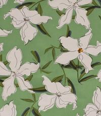 Half linnen jasmijn groen