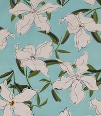 Half linnen jasmijn aqua