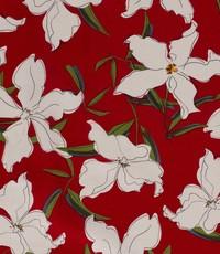 Half linnen jasmijn rood
