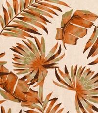 Half linnen vingerblad oranje