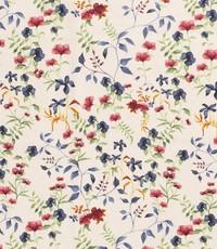 Half linnen mille fleurs ecru
