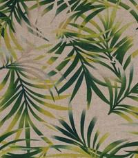 Half linnen jungleblad naturel