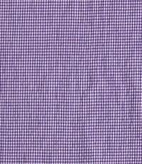 Seersucker ruitje paars-wit