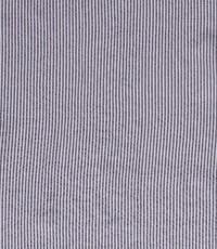 Seersucker streep grijs met wit