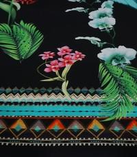 Tricot tropisch paneel
