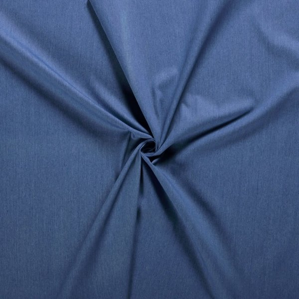 Voorgewassen denim blauw