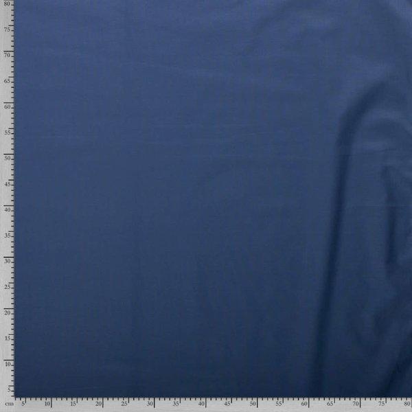 Uni katoen jeansblauw