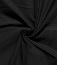Uni katoen zwart