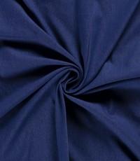 Voorgewassen denim donker blauw stretch