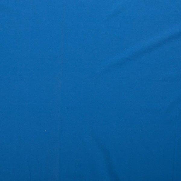 Katoenen tricot zware kwaliteit fel blauw