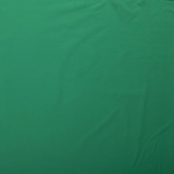 Katoenen tricot zware kwaliteit groen