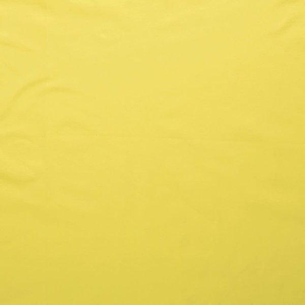 Katoenen tricot zware kwaliteit knal geel