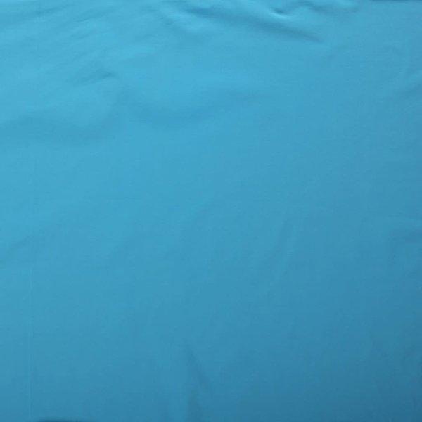 Katoenen tricot zware kwaliteit aqua