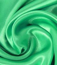 Uni satijn groen