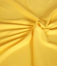 Uni crepe geel