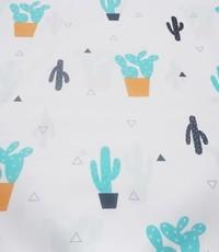 Kinderkatoen cactus wit