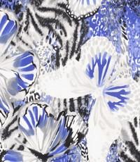 Tricot blauwe vlinder